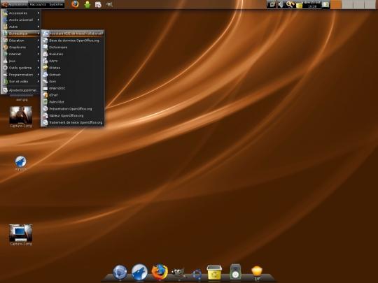 Débutants ubuntu lts gnome u le bureau gnome le d