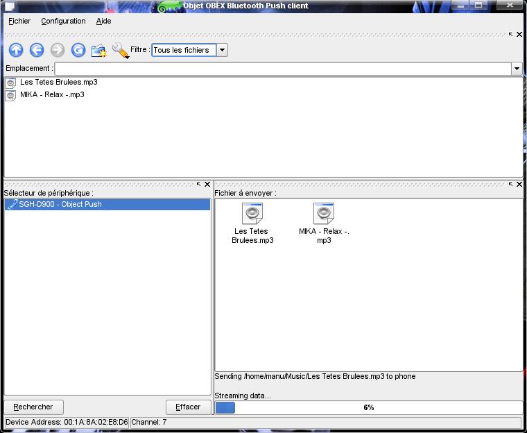 Faire communiquer son telephone mobile avec linux via for Fenetre sur cour streaming