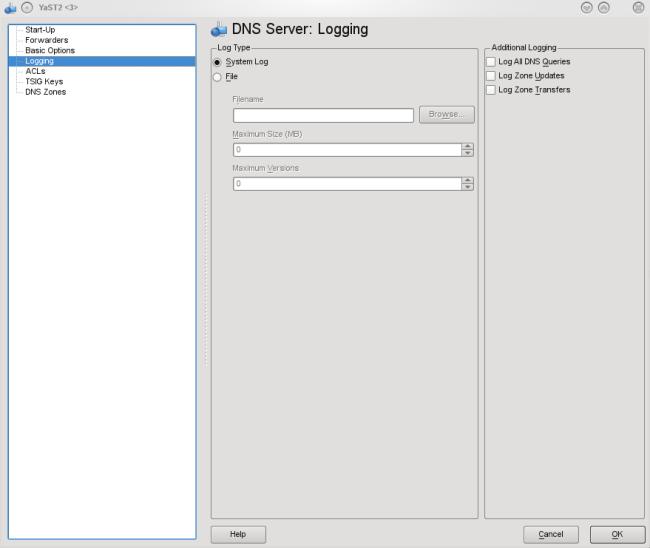 Yast:serveur_dns [LinuxPedia]